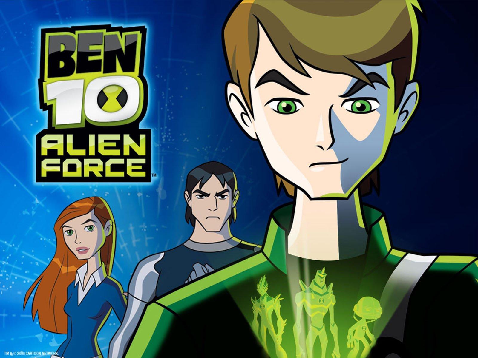 Alien Force Ben 10 Alien Force 1563776 Hd Wallpaper