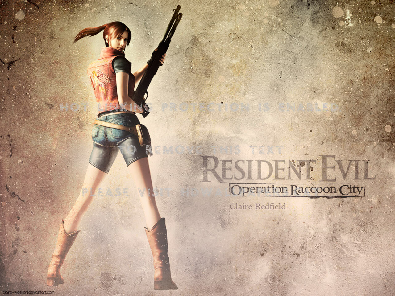 Resident Evil Operation Raccoon City Claire Redfield 1563896