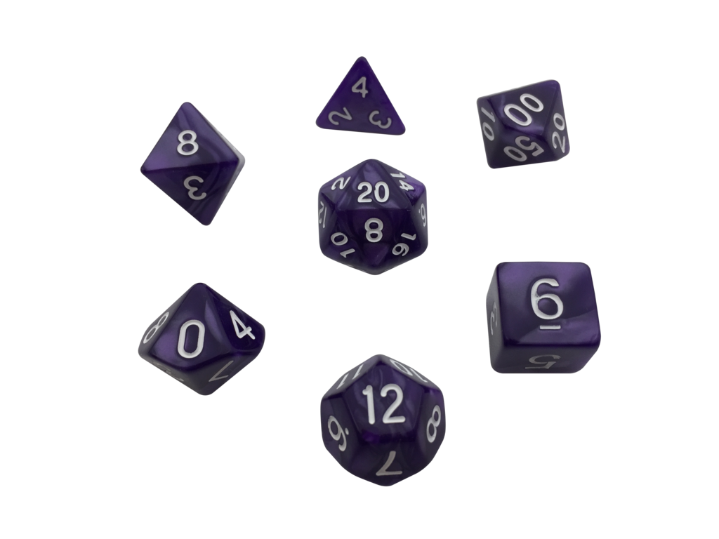 Pack Of 7 Polyhedral Dice With Dice 1567065 Hd Wallpaper