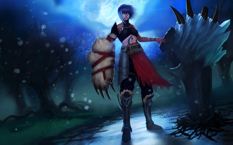 Anime League Of Legends Sejuani Wallpaper Wallpaper