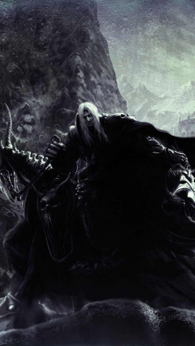 Lich King Arthas Menethil Iphone Arthas 1568120 Hd