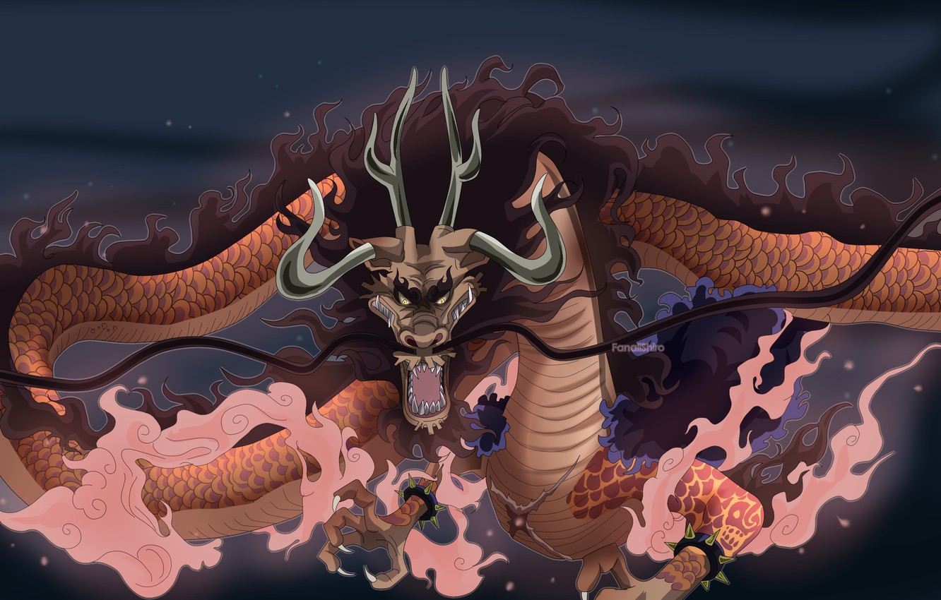 Photo Wallpaper Game One Piece Pirate Anime Dragon One Piece Kaido Drache 1570062 Hd Wallpaper Backgrounds Download