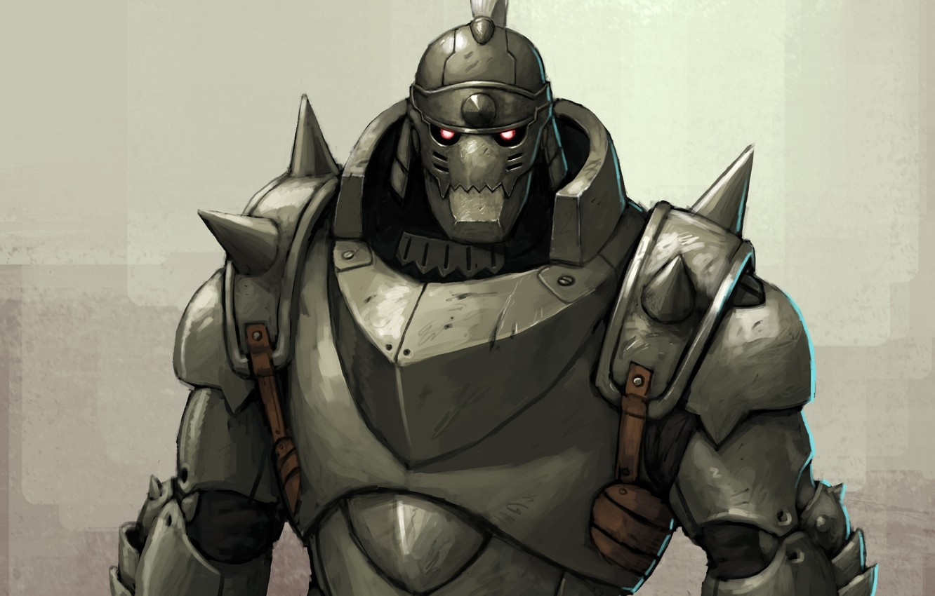 Photo Wallpaper Anime Armor Fullmetal Alchemist Alphonse