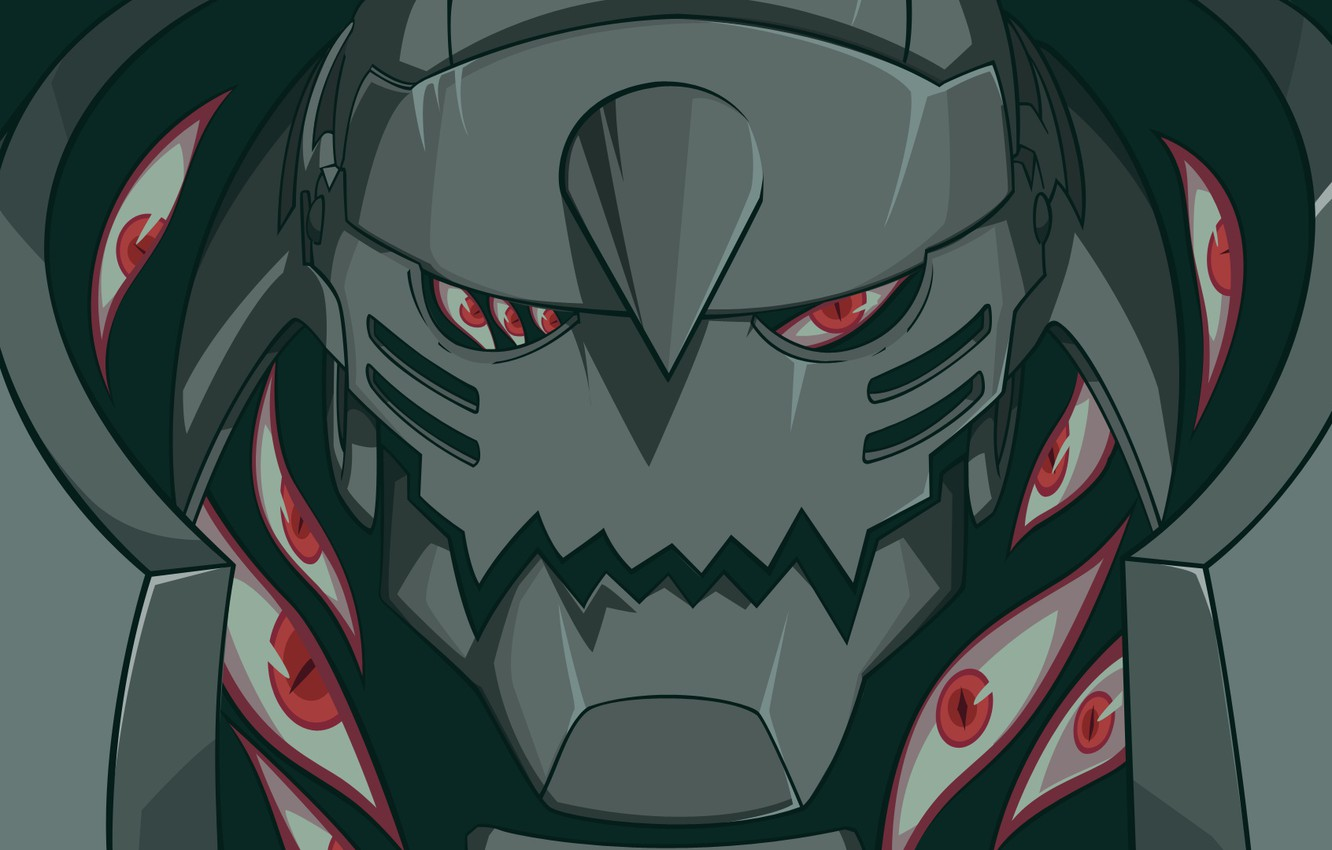 Photo Wallpaper Eyes Robot Anime Alphonse Elric Fullmetal