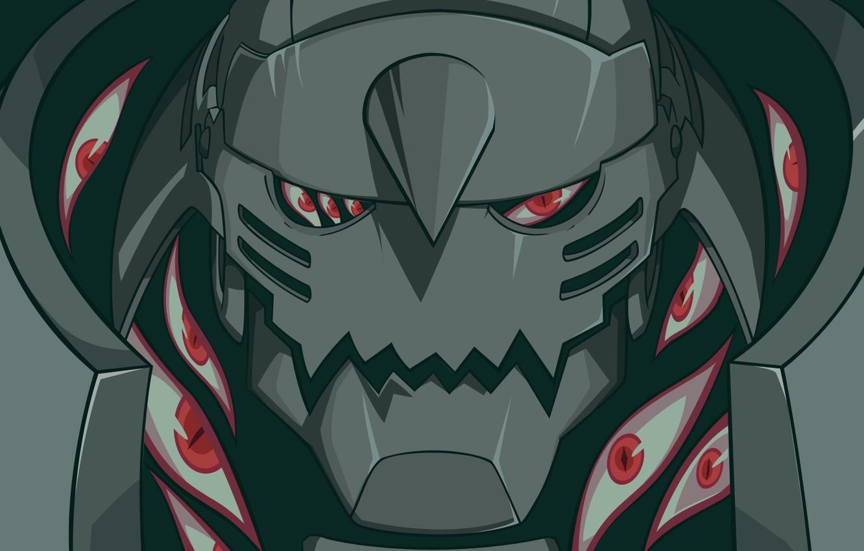 Photo Wallpaper Eyes Robot Anime Alphonse Elric Fullmetal