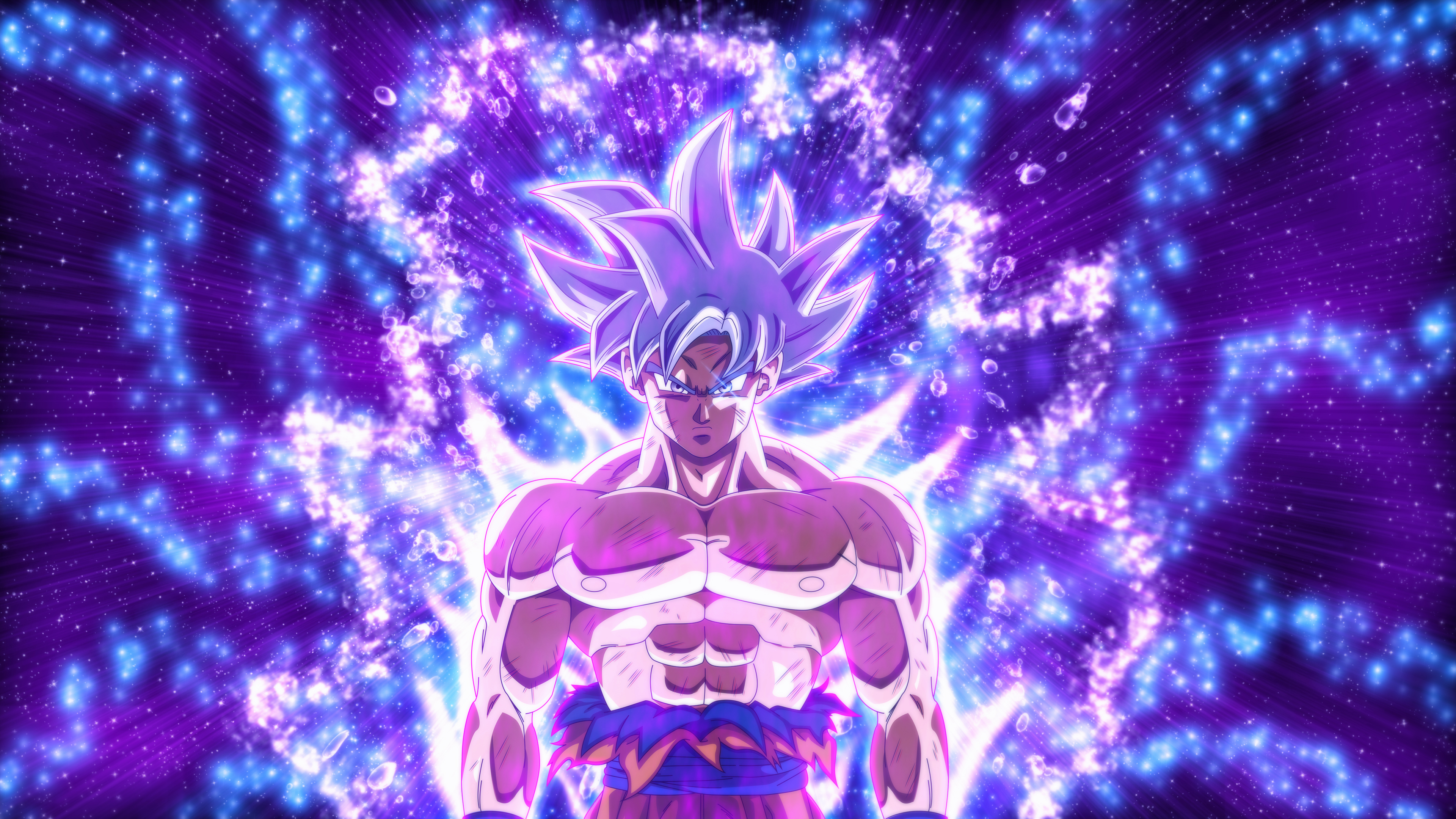 Dragon Ball Super Goku Ultra Instinct 4k Goku Mastered Ultra