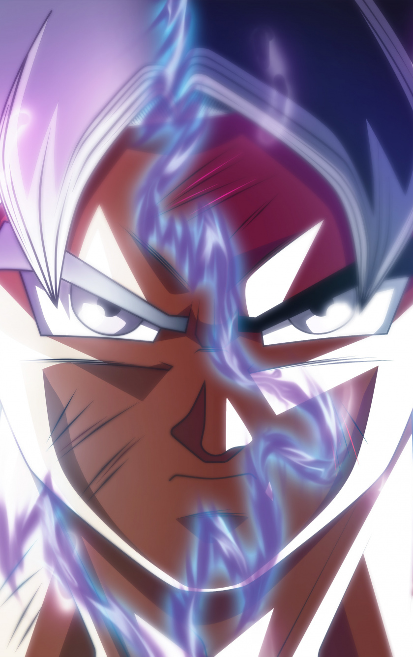 Wallpaper Goku Face Off Ultra Instinct Dragon Ball Ultra