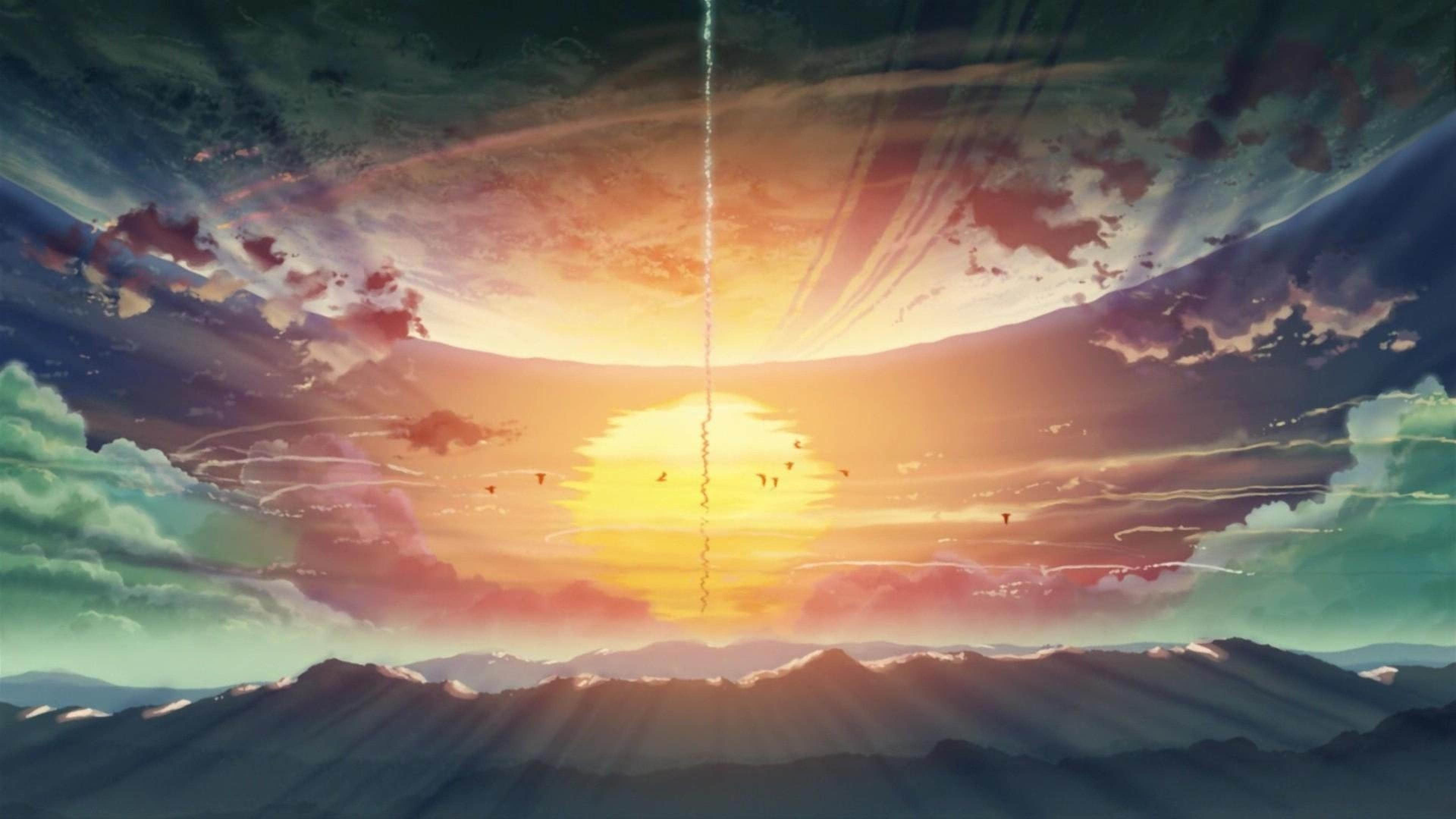 Photos 5 Centimeters Per Second Hd Hd Wallpapers High - 5 Centimeter Per Second Hd , HD Wallpaper & Backgrounds