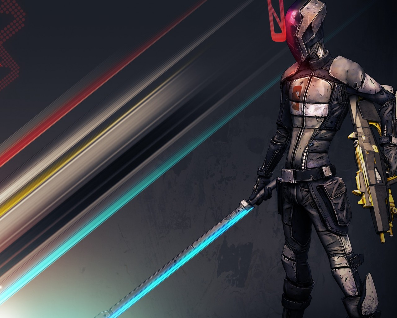Zer0 Borderlands 2 , HD Wallpaper & Backgrounds