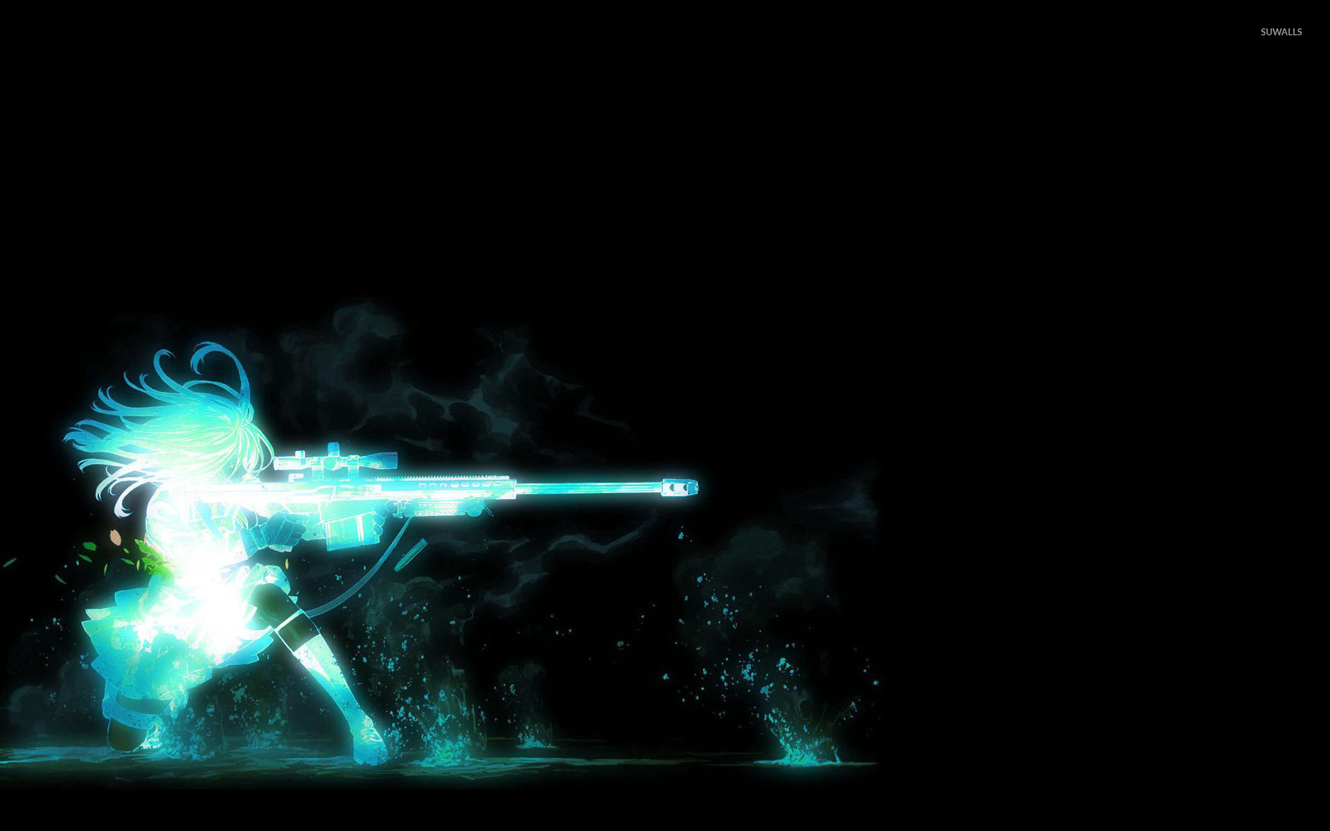 Special Forces Wallpapers Group - Anime Sniper Girl Wallpaper Hd , HD Wallpaper & Backgrounds