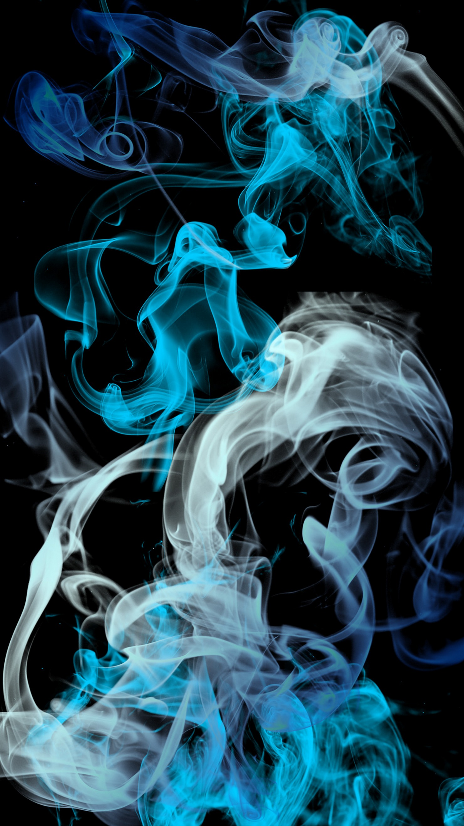 Blue Grey Black Smoke Background Iphone Retina Smoke Hd