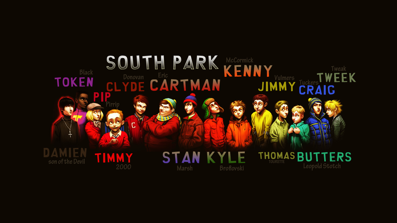 South Park Wallpaper Cool South Park Backgrounds 1588152 Hd