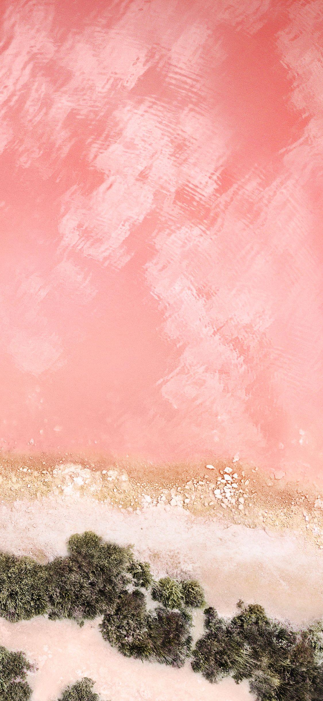 Original Apple Wallpapers Optimized For Iphone X - Pink Iphone X Background , HD Wallpaper & Backgrounds