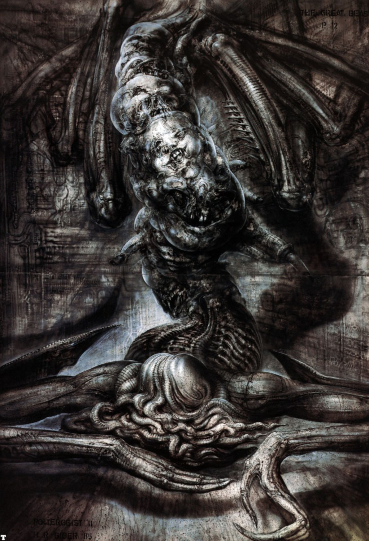 Previous H R Giger Wallpaper Poltergeist 2 Great Beast