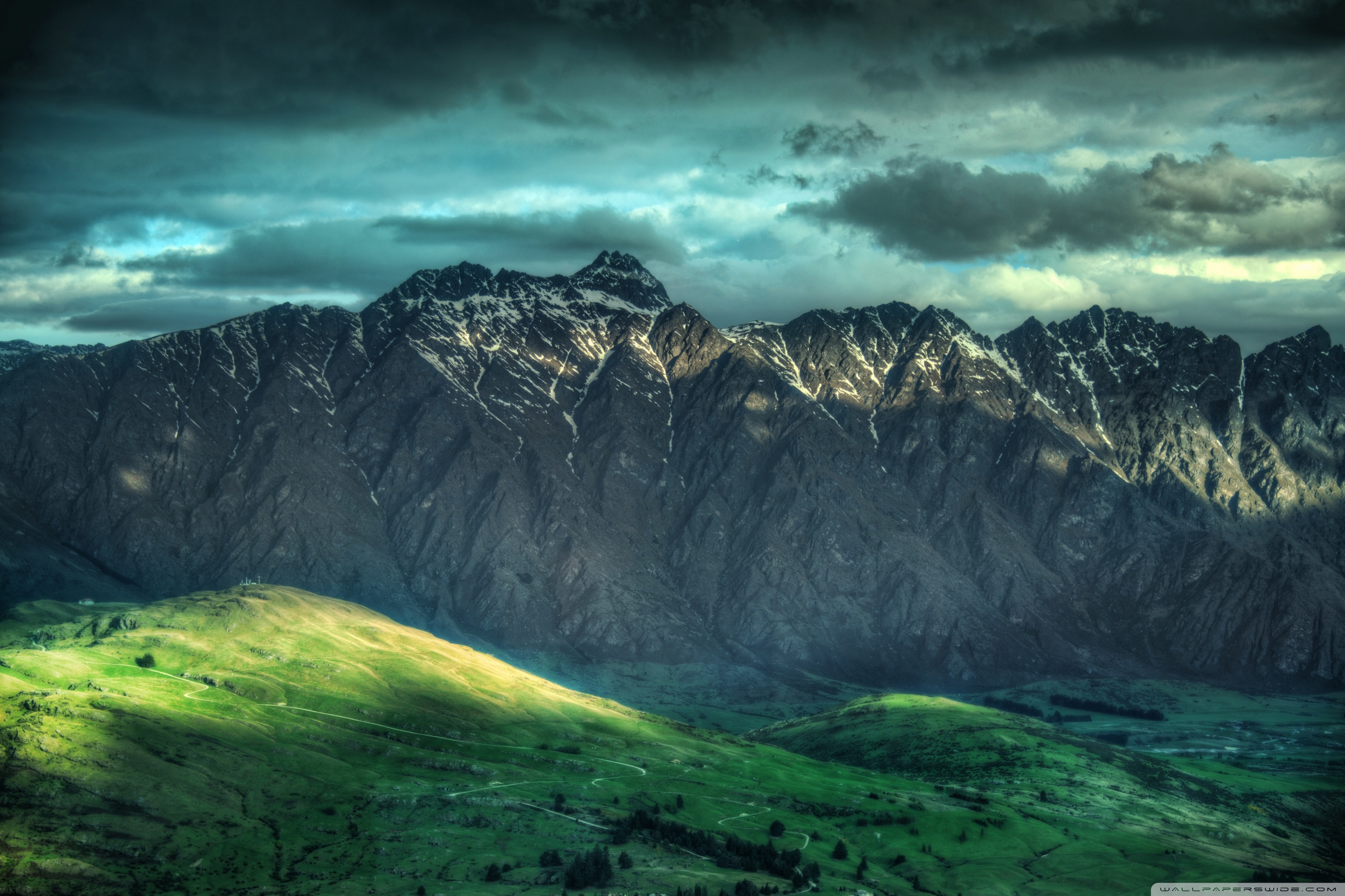 Mountains New Zealand Hd Desktop Wallpaper , HD Wallpaper & Backgrounds