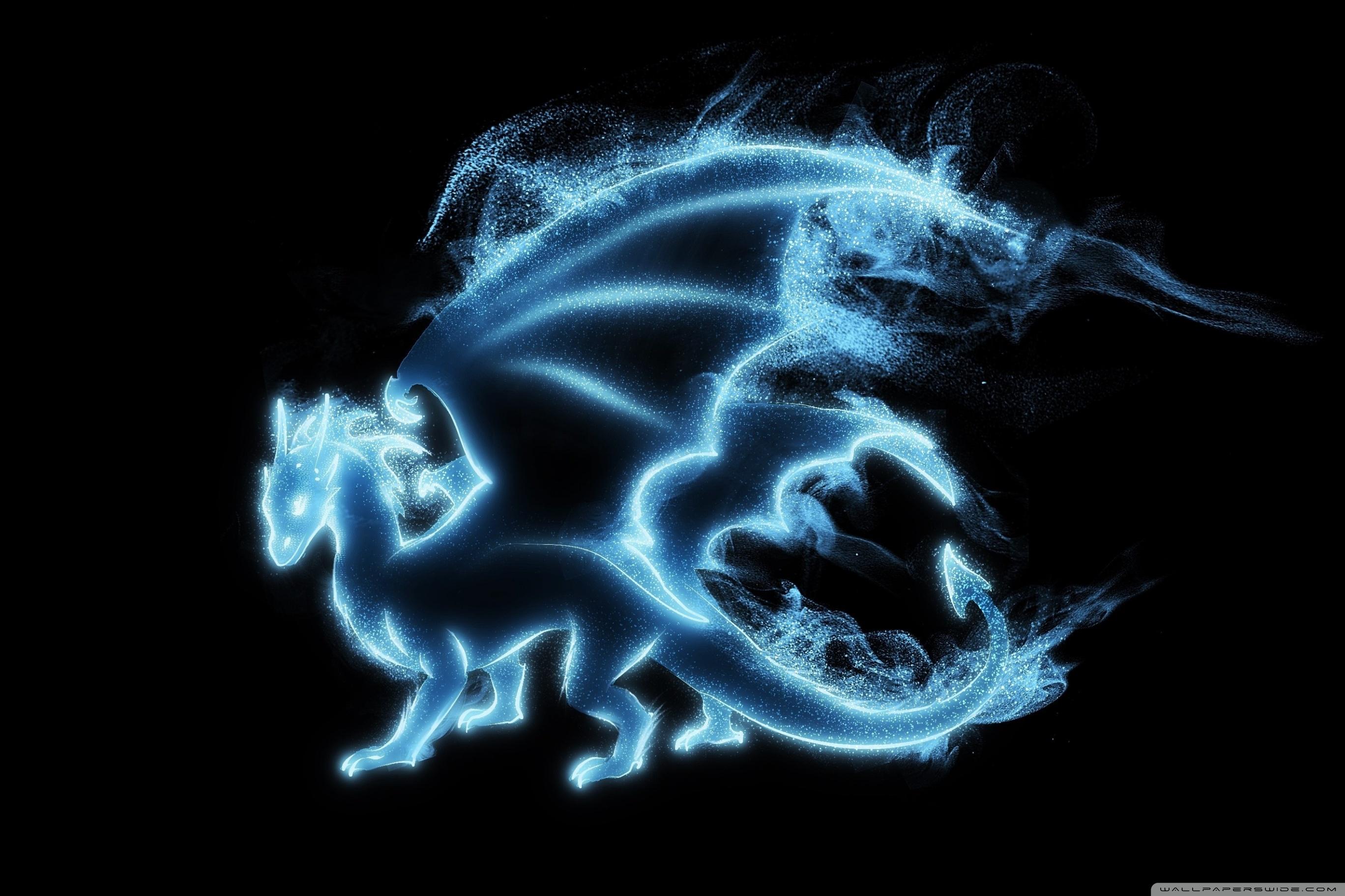 Related Wallpapers - Harry Potter Patronus Drache , HD Wallpaper & Backgrounds
