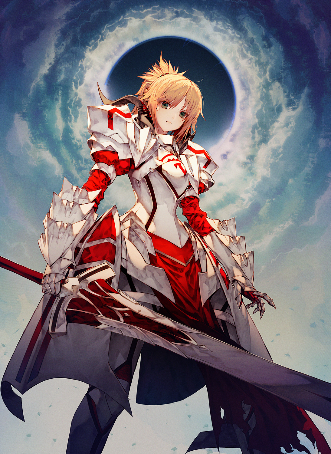 Anime Fate Apocrypha Fate Series Anime Girls Saber Mordred Fate Wallpaper Phone 160304 Hd Wallpaper Backgrounds Download