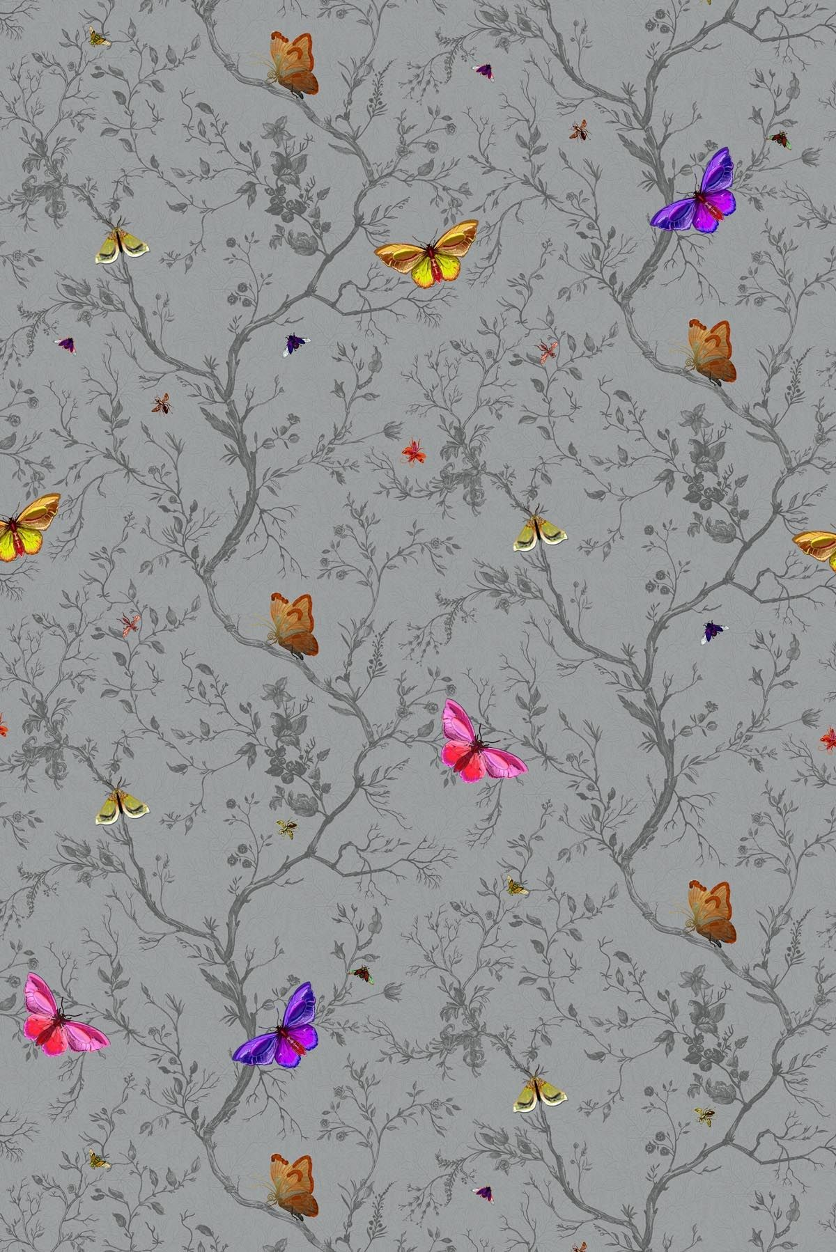 Butterflies Wallpaper Butterflies Wallpaper Butterflies - Timorous Beastie Wall Paper , HD Wallpaper & Backgrounds
