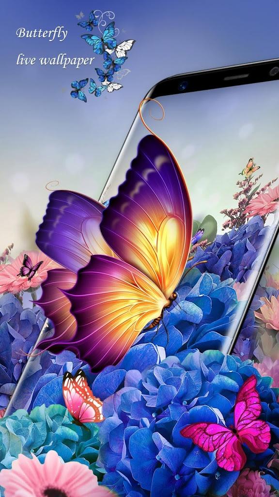 Butterfly Wallpaper - Butterfly Wallpaper For Whatsapp , HD Wallpaper & Backgrounds