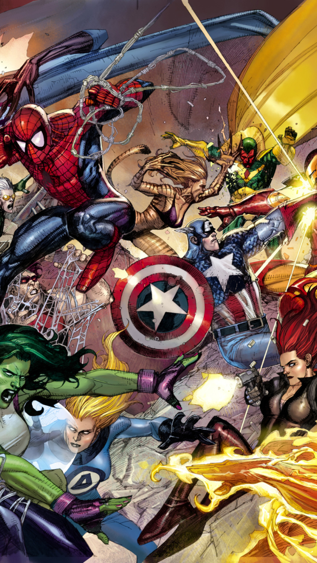 Iphone Marvel Wallpaper Hd 161472 Hd Wallpaper Backgrounds Download