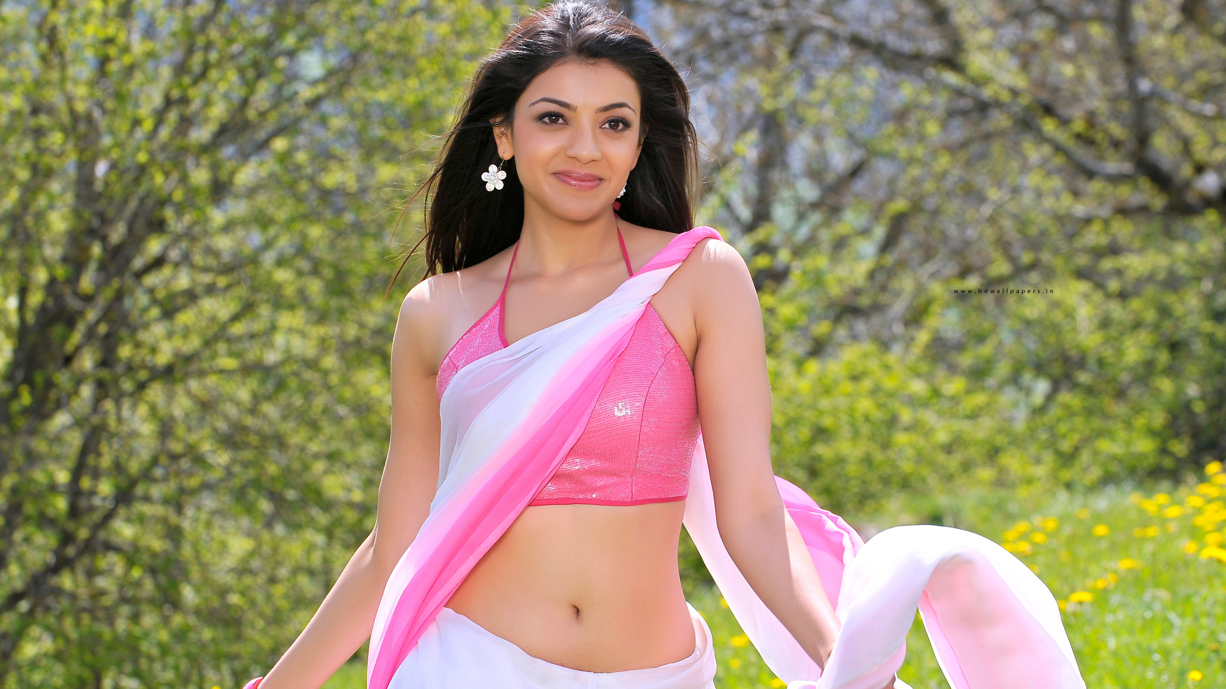 Kajal Agarwal Hot In Veera , HD Wallpaper & Backgrounds