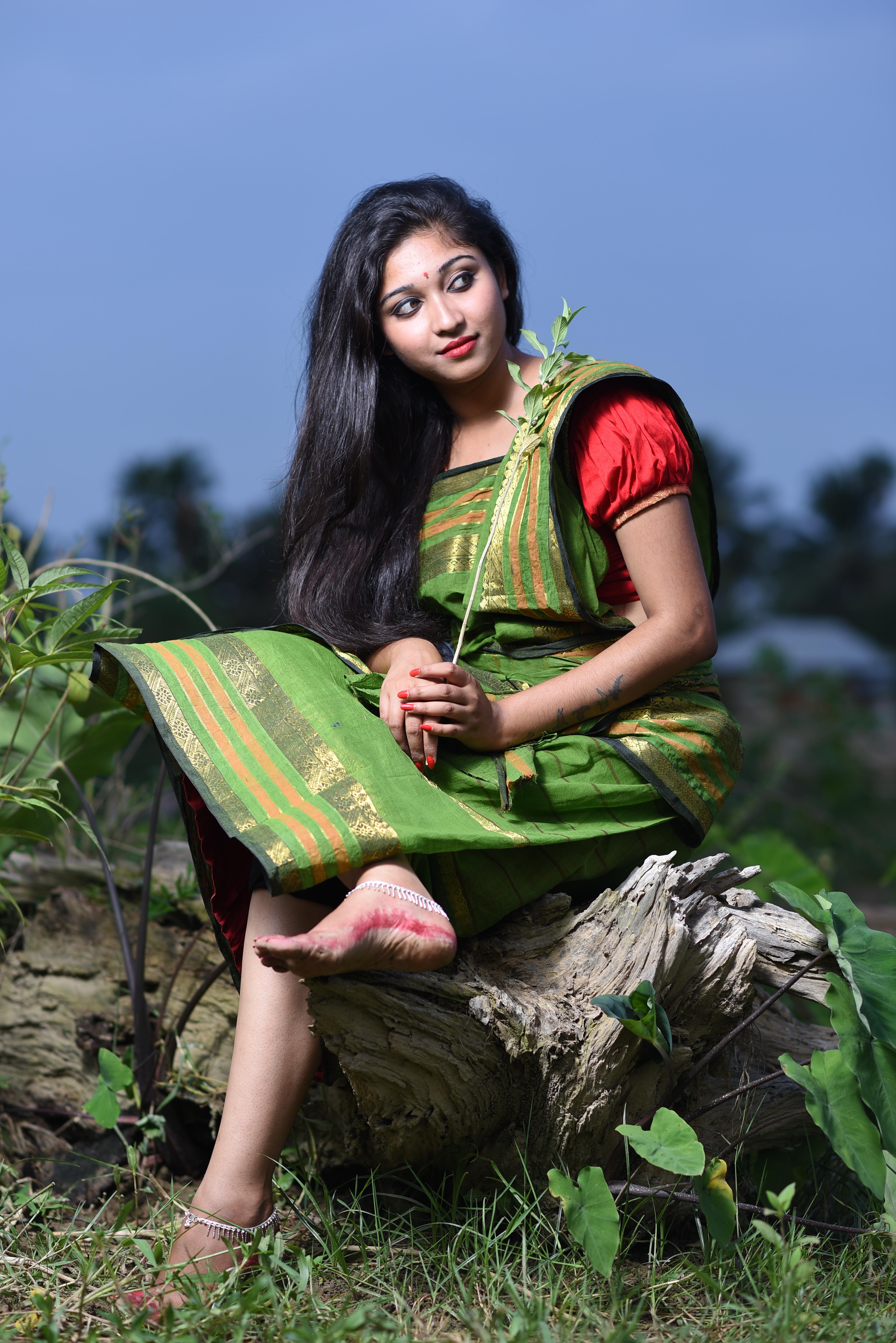 Joy Deb - Indian Photo Girl , HD Wallpaper & Backgrounds