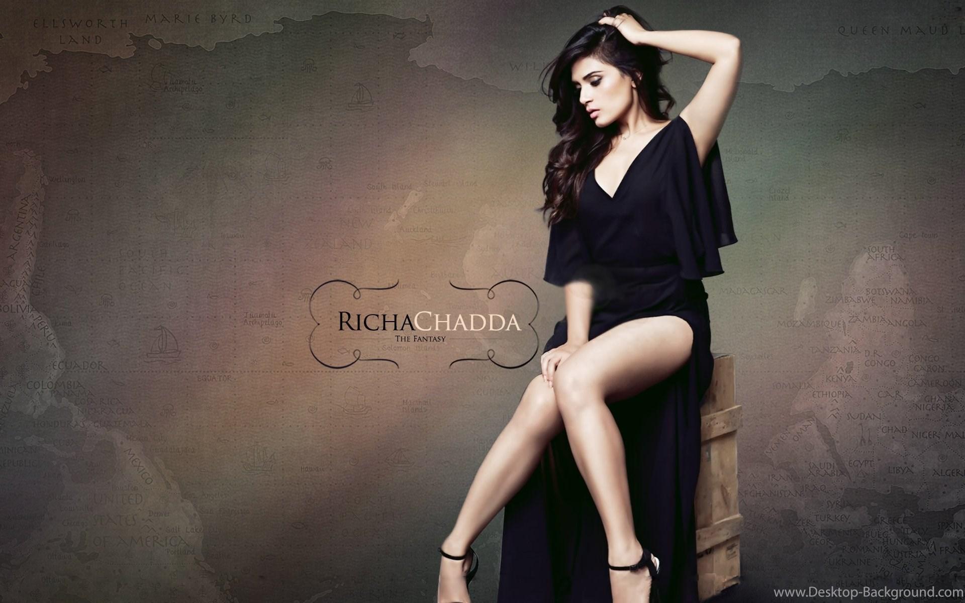 Richa Chadda Bollywood Hot Indian Girl Hd 1080p Wallpaper - 1080p Wallpaper Hd Girl , HD Wallpaper & Backgrounds
