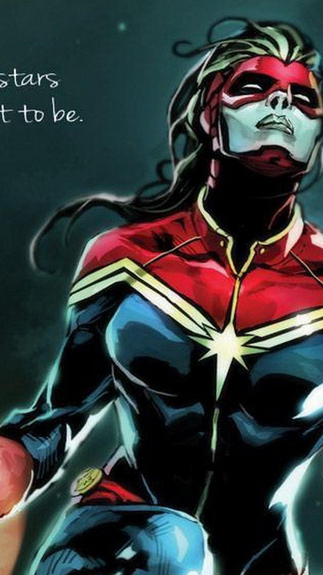 Start Download - Capitan Marvel Y Capitana Marvel , HD Wallpaper & Backgrounds