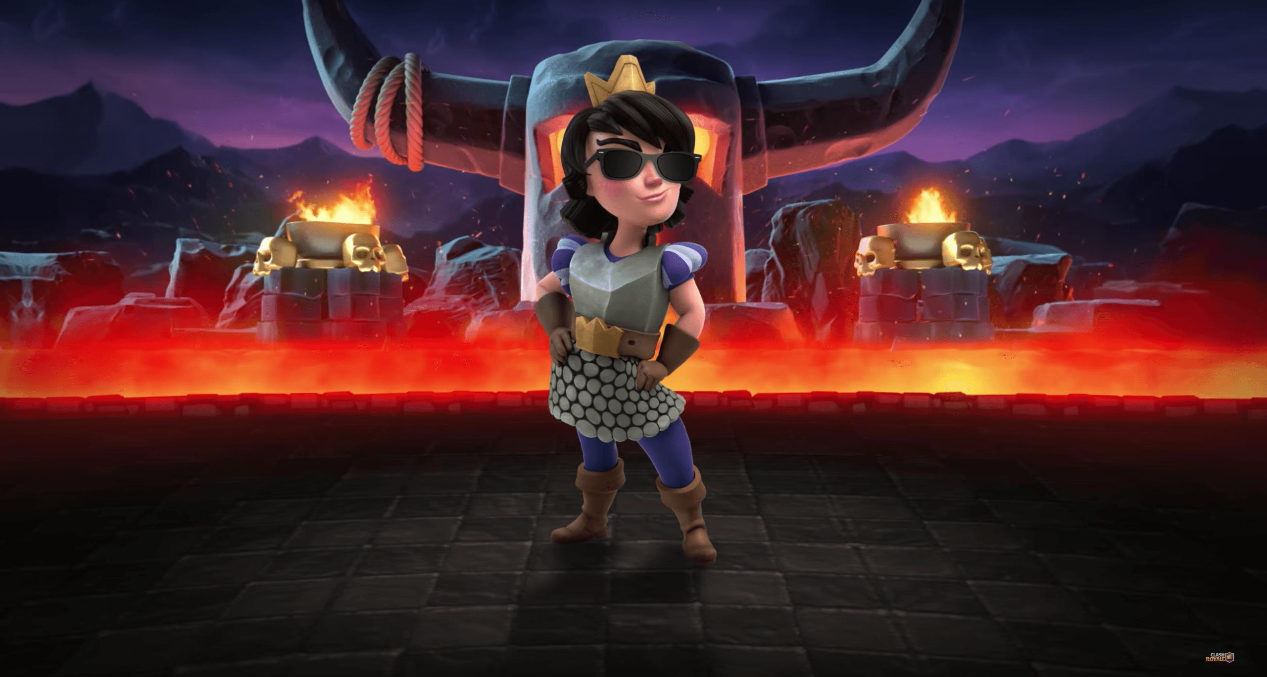 Clash Royale Wallpaper Princess - Princess From Clash Royale , HD Wallpaper & Backgrounds