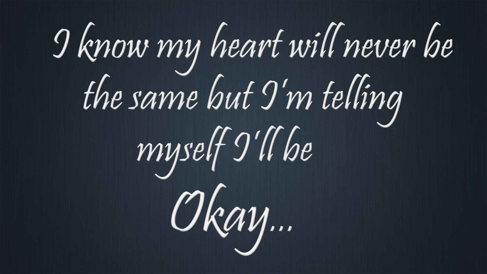 Sad Heartbreak Quotes Hd Images - Calligraphy , HD Wallpaper & Backgrounds