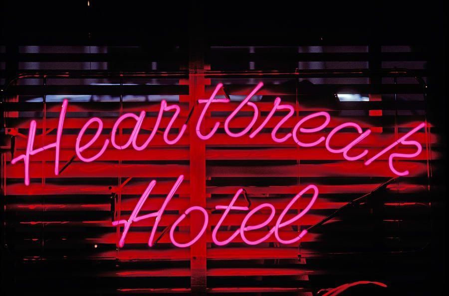 Heartbreak Hotel Neon Photograph Heartbreak Hotel Neon Sign 165506 Hd Wallpaper Backgrounds Download