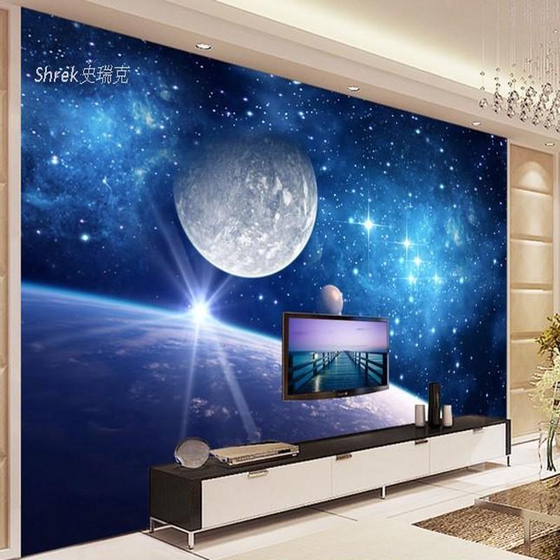 Photo Wallpaper 3d Film Television Wall Murals Universe