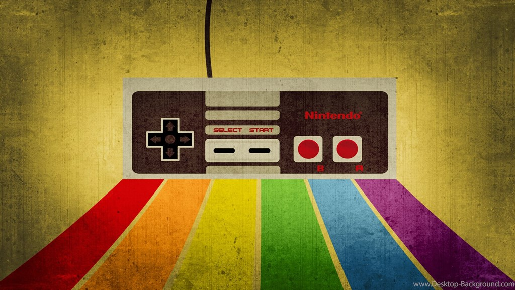Retro Video Game , HD Wallpaper & Backgrounds