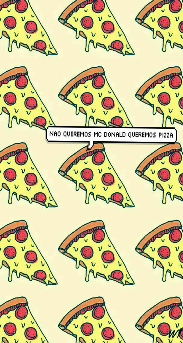 Radical Wallpapers - Imagens Para Tela De Bloqueio De Pizza , HD Wallpaper & Backgrounds