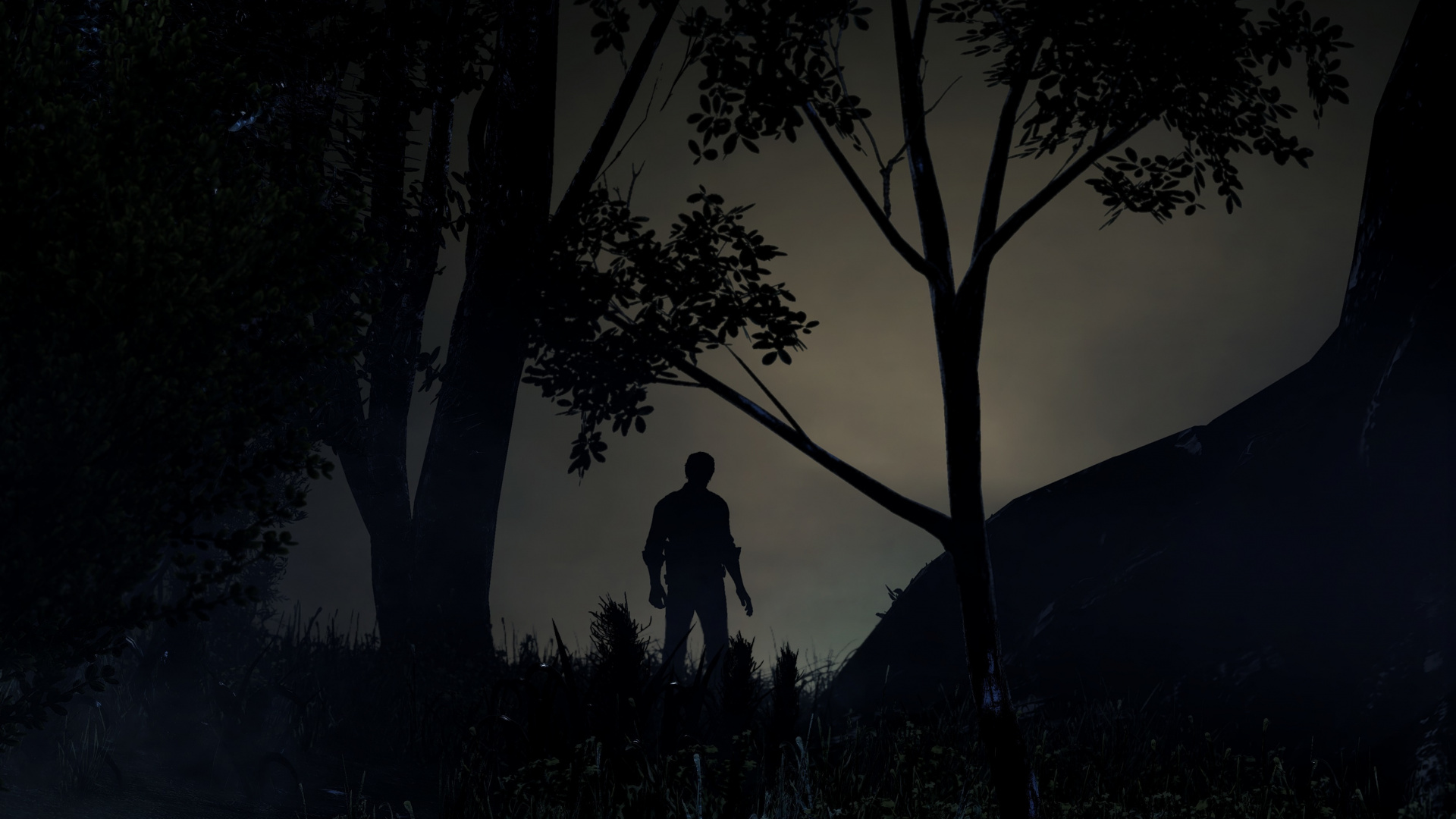 Wallpaper Man The Evil Within 2 Video Game Outdoor Evil