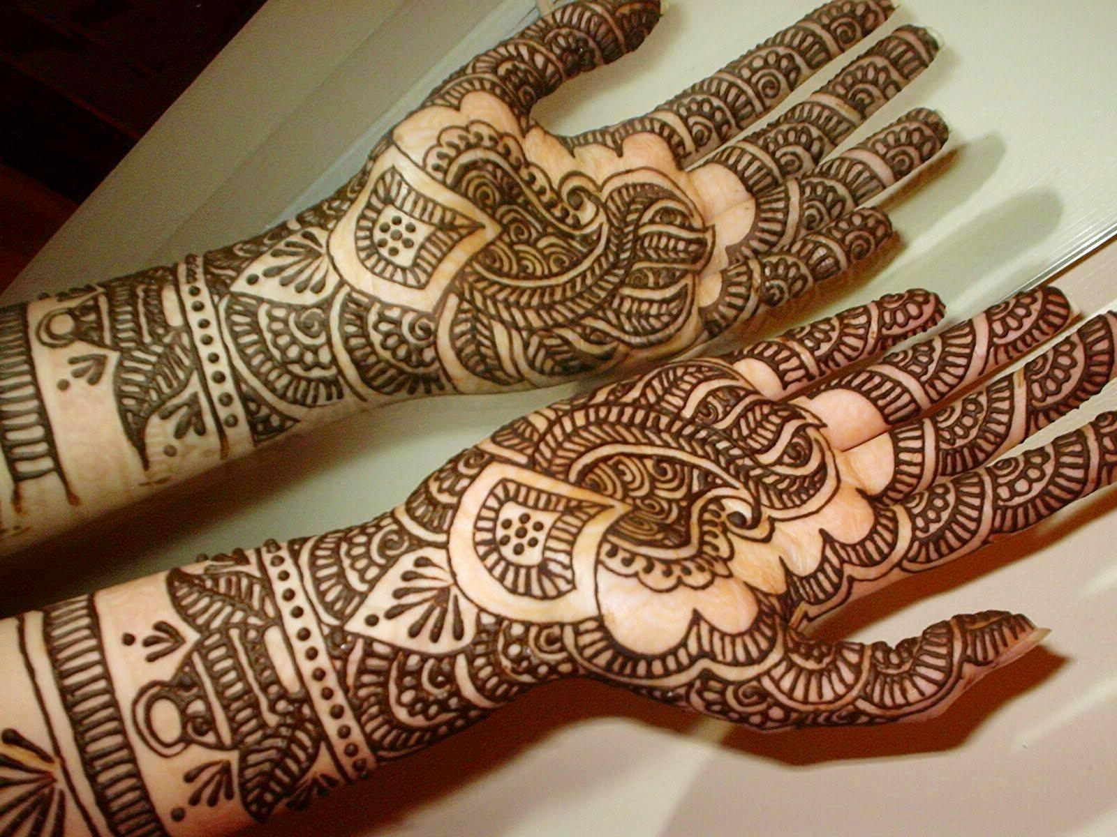 Mehndi Design Wallpaper - Easy Simple Indian Mehndi Design , HD Wallpaper & Backgrounds