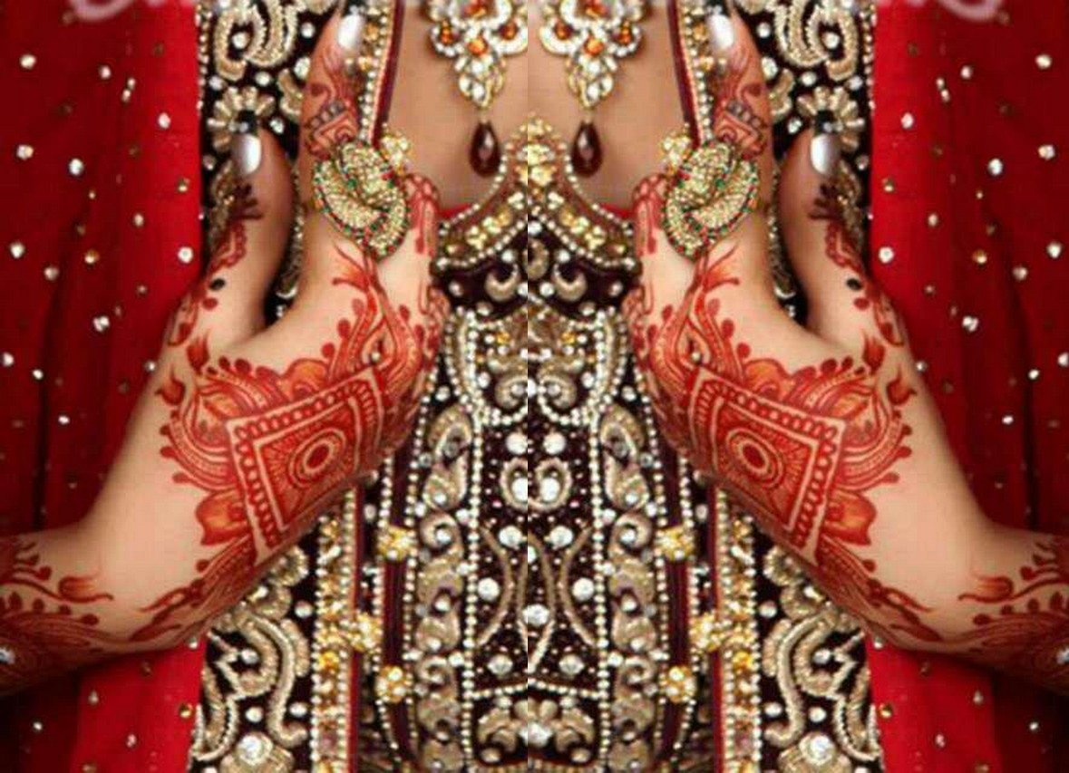 Mehndi Design Wallpaper - Asian Bridal Mehndi Design , HD Wallpaper & Backgrounds