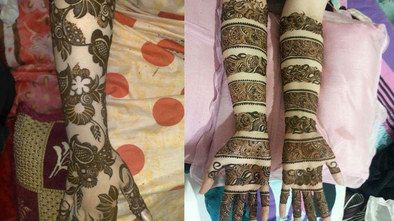 beautiful bangle mehndi design