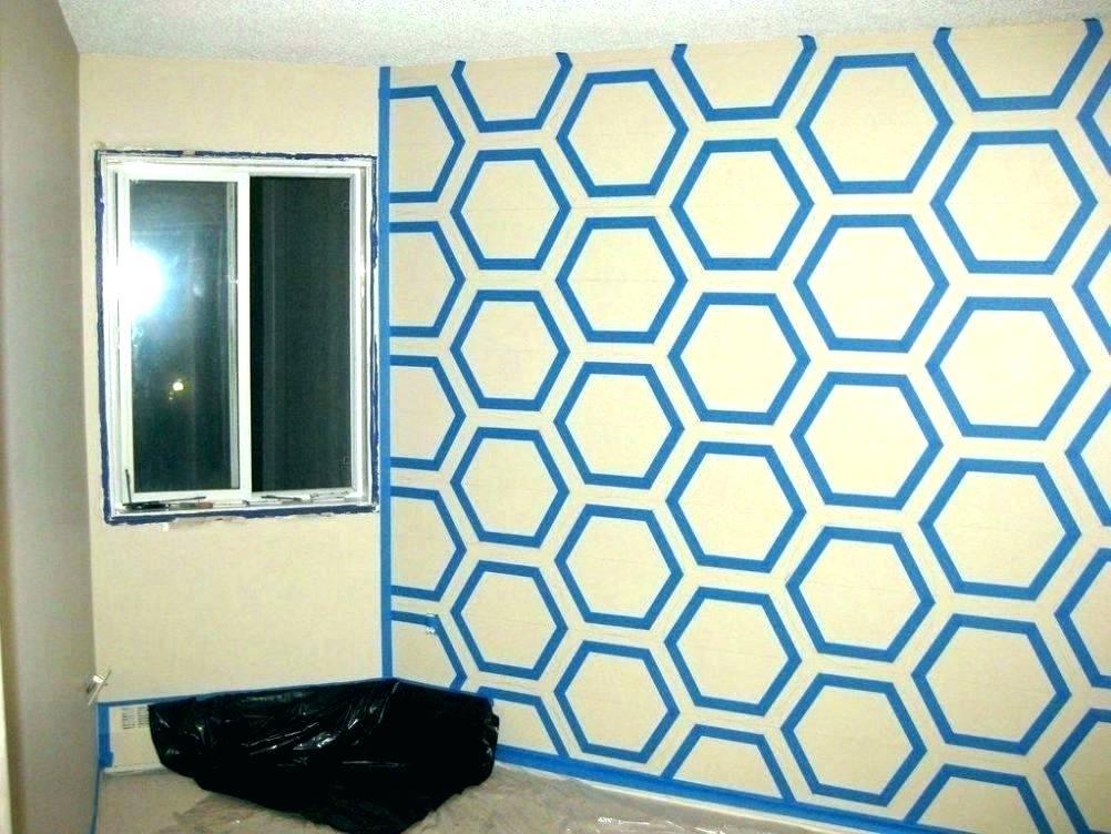 Washi Tape Wall Designs Tape Wall Art Wall Paint Design Wall