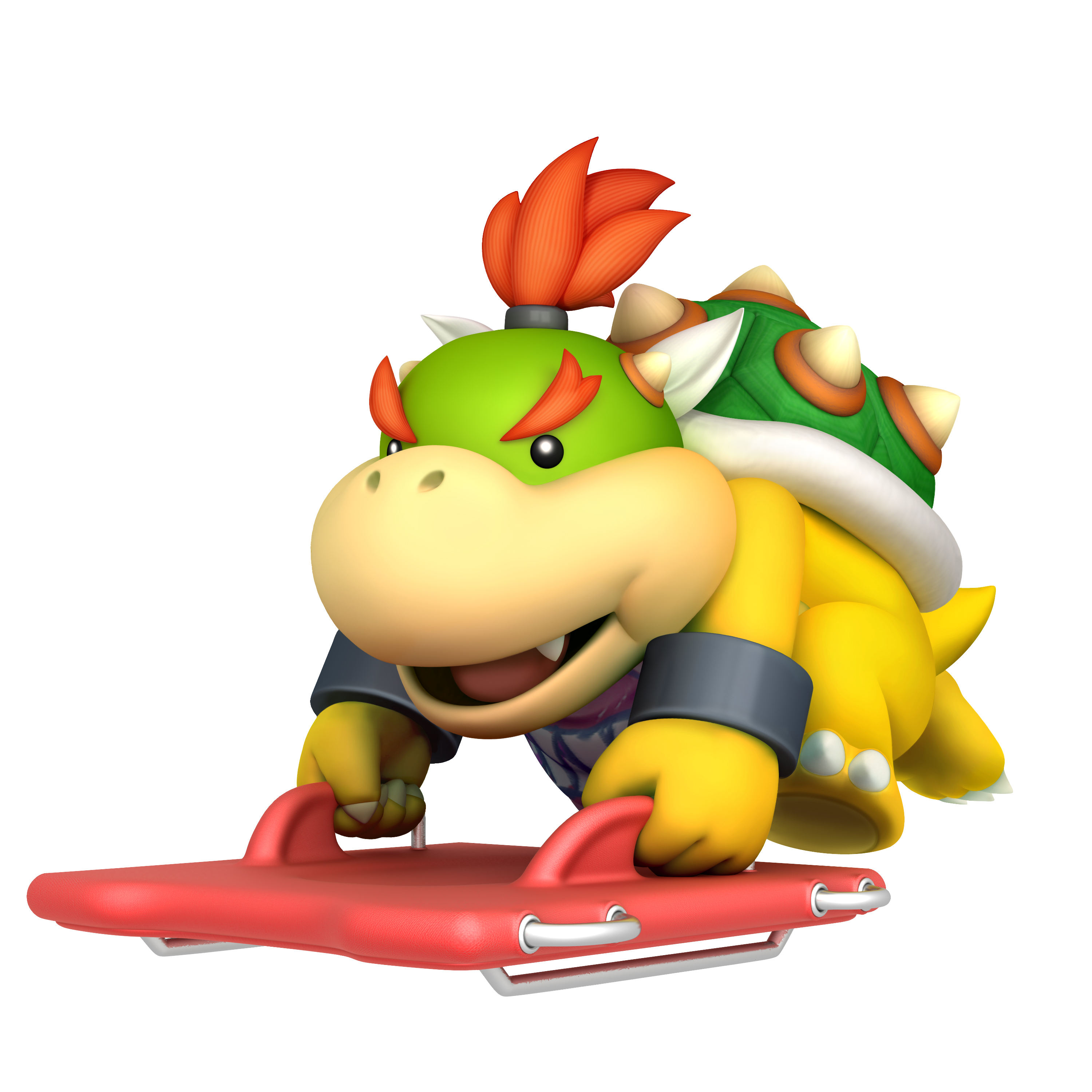 Bowser Junior Mario And Sonic At The Olympic Winter Games