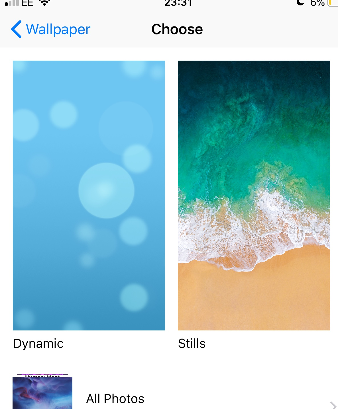 Don T Have Live Wallpapers On My Iphone 6s Plus Wallpaper