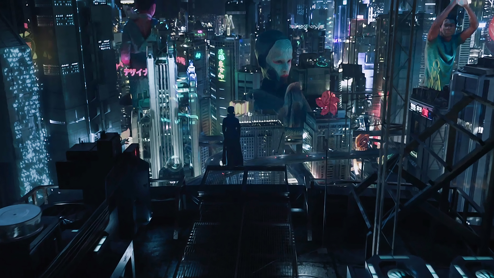 Ghost In The Shell Wallpaper Ghost In The Shell City Movie