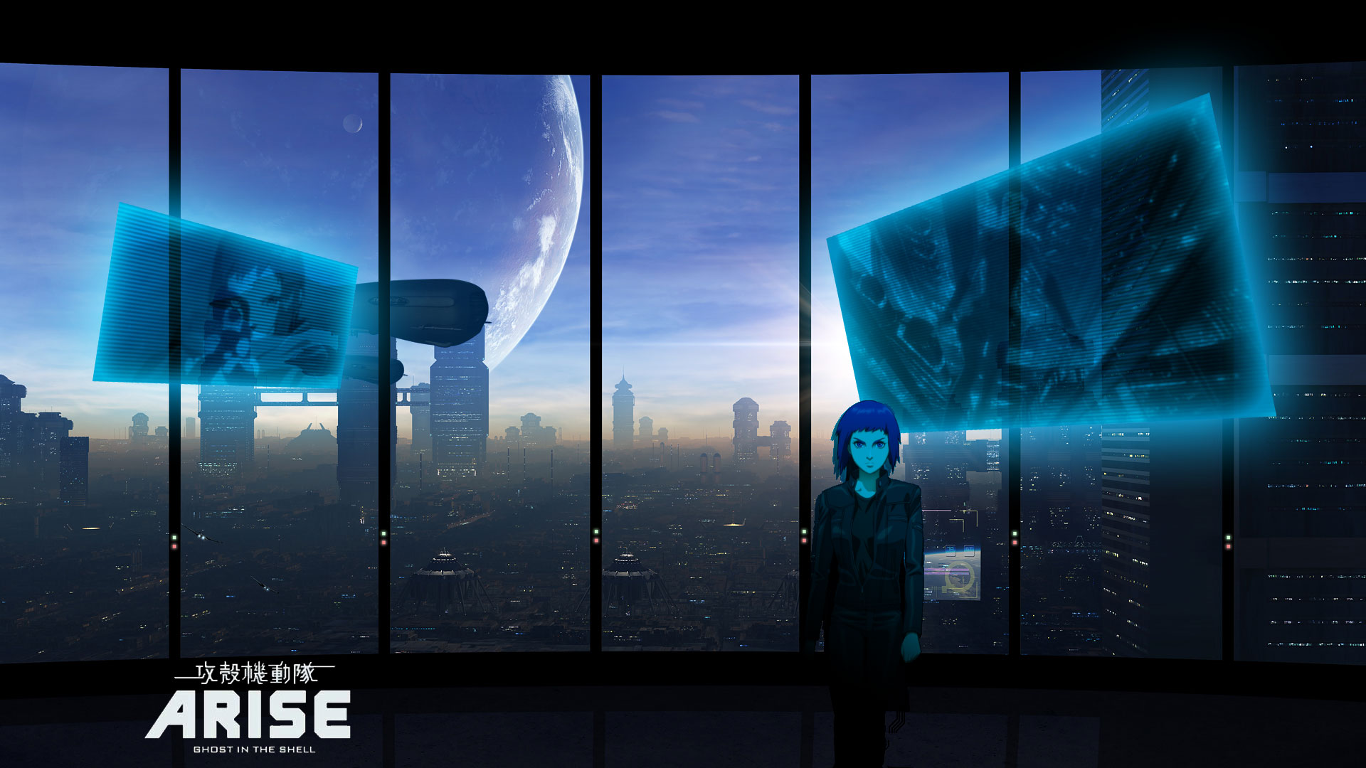 Ghost In The Shell Arise Hd Wallpaper Newport City Ghost Inthe