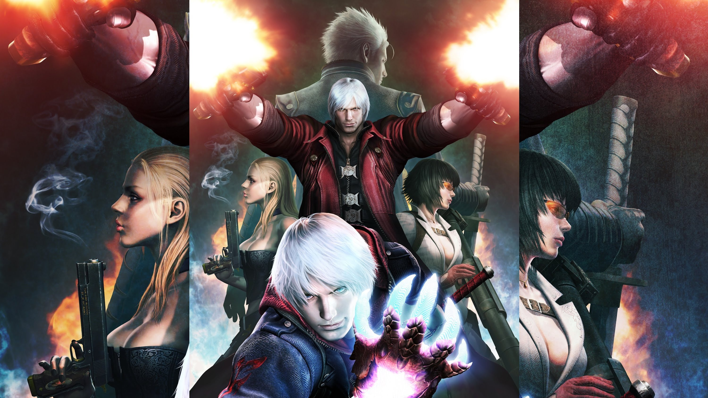 Devil May Cry Dante Nero Character Wallpaper And Background