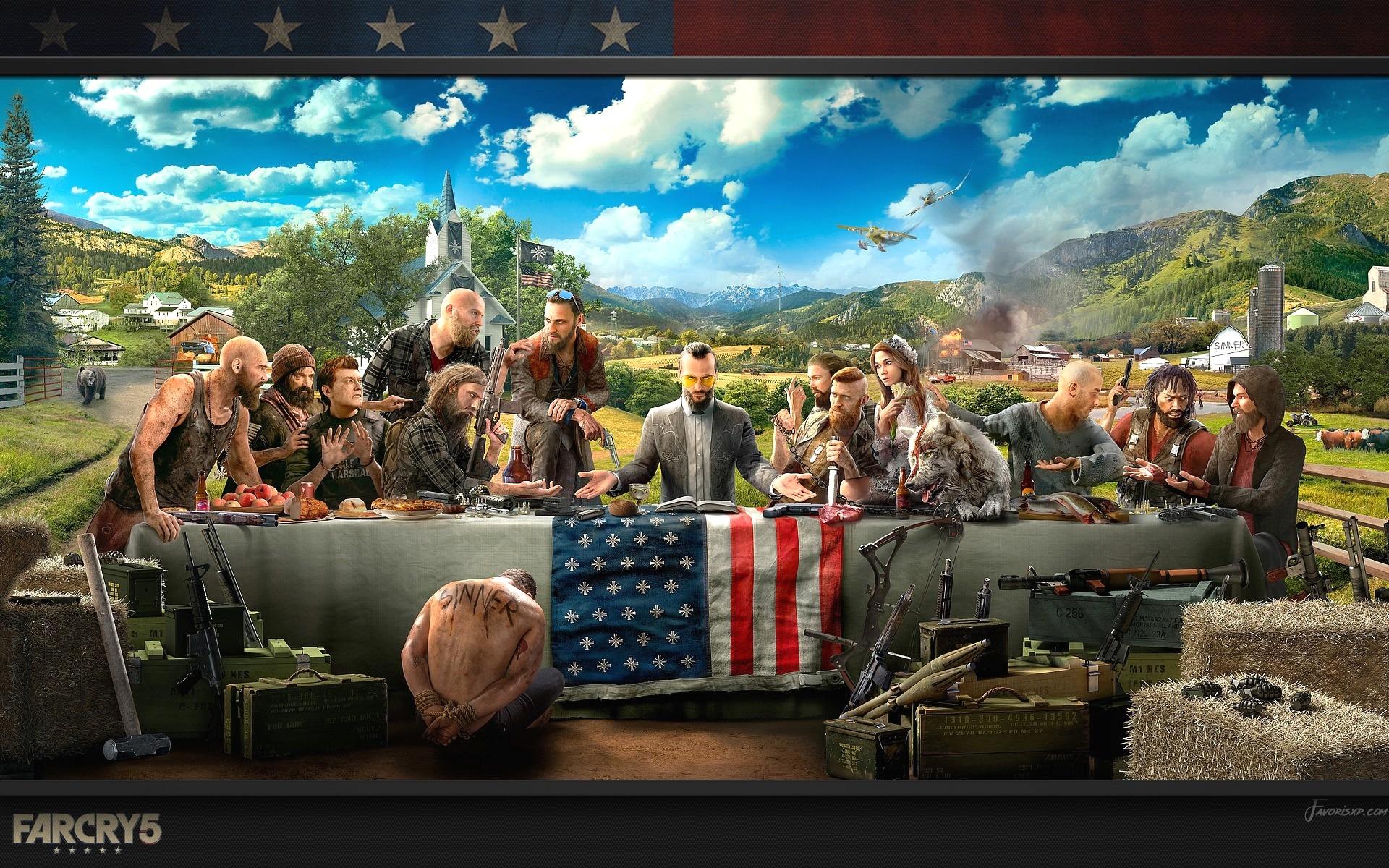 Far Cry 5 Fonds D Cran Hd Arri Re Plans Gratuit Pour