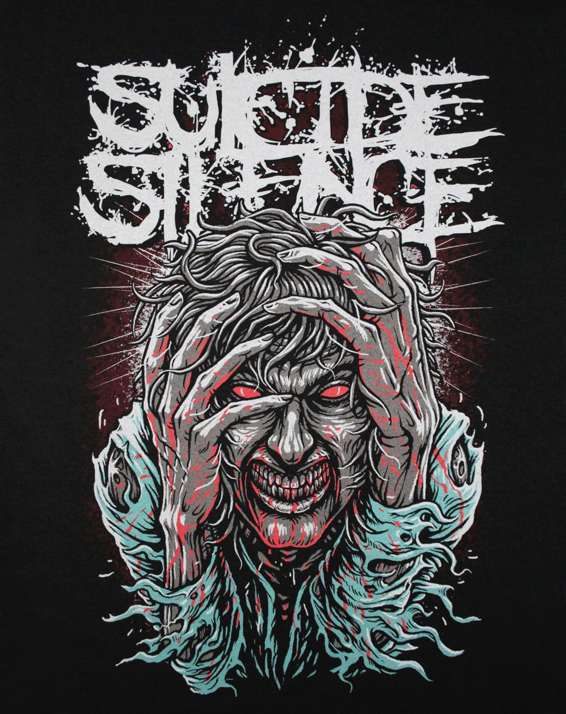 Suicide Silence Wallpaper 336132 - Suicide Silence Logo , HD Wallpaper & Backgrounds
