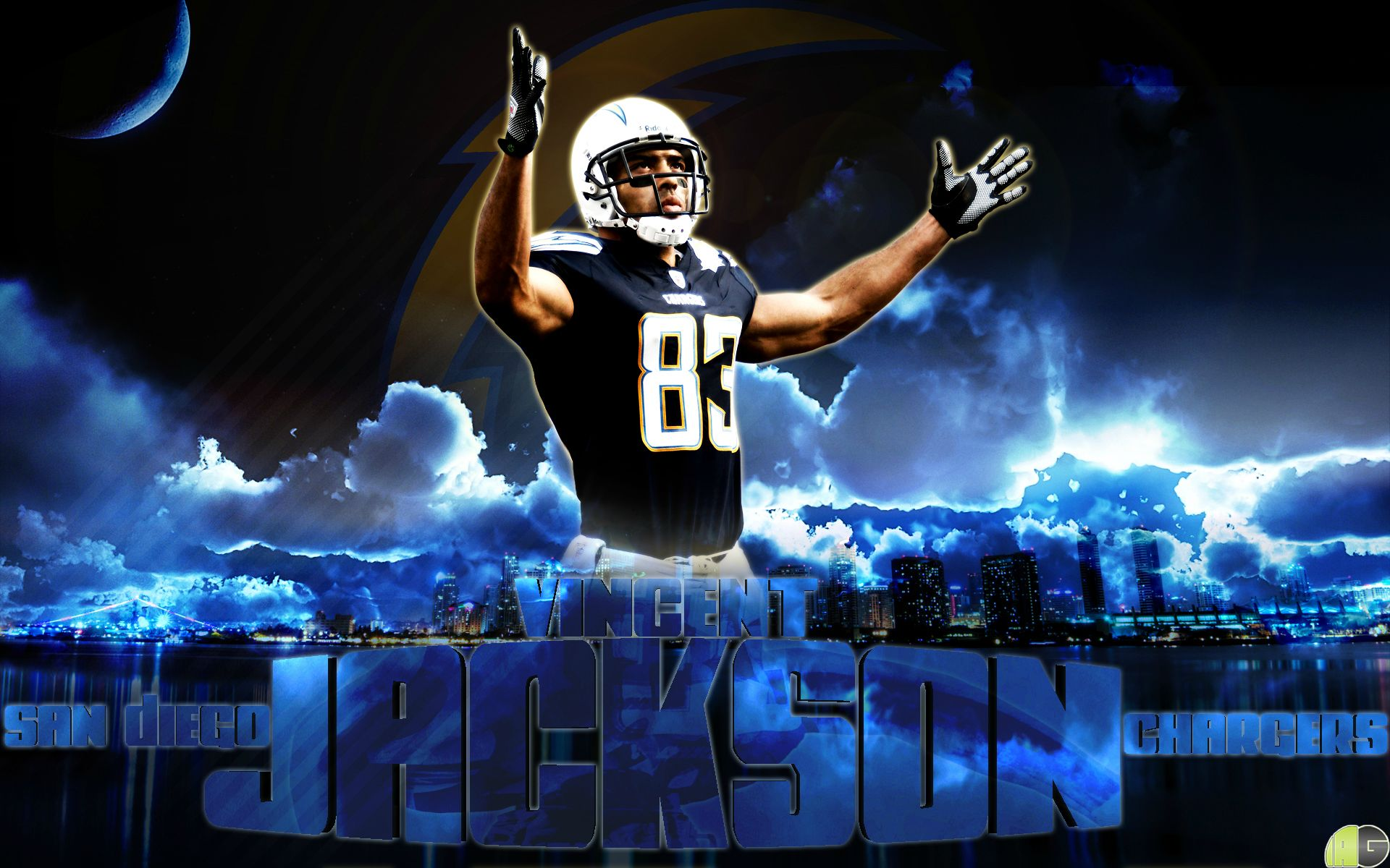 By Request San Diego Chargers Hd 1615849 Hd Wallpaper