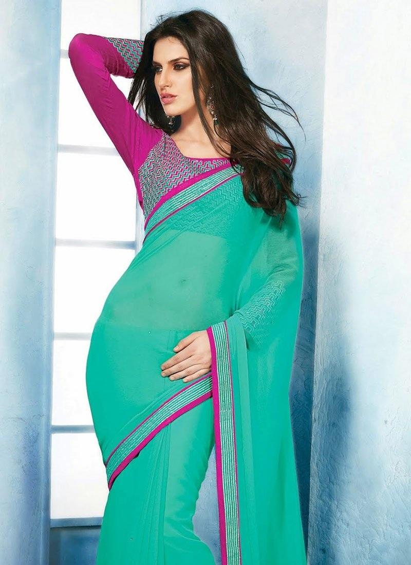 Free Download Kriti Sanon Designer Saree Pics Photos - Kriti Sanon Heropanti Saree , HD Wallpaper & Backgrounds