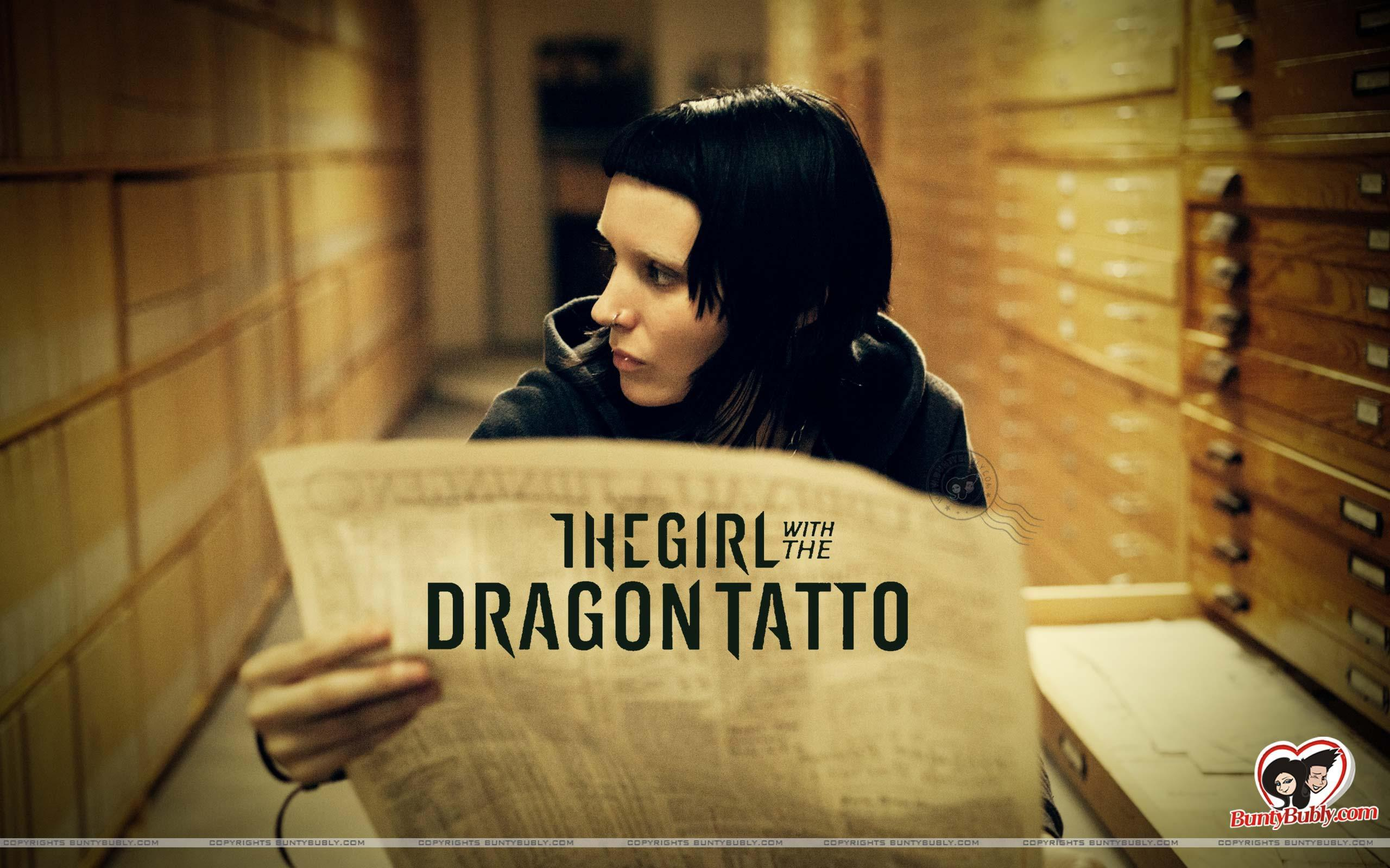Girl With A Dragon Tattoo Wallpapers And Images 1617029 Hd