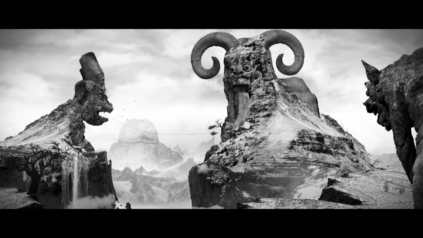 The Artistic And Animated Nature Of The Video Could Monsters And